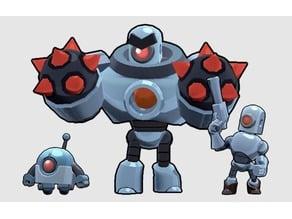 Brawl stars Roborumble robots