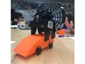 Aaron's Fan Cart