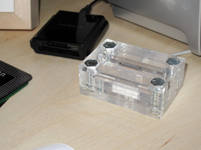 Laser-Cut iPhone 3G Dock