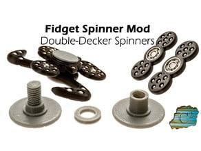 Double-Decker Fidget Spinner Mod