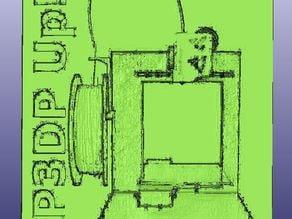 PP3DP Up! Plus Lithophane