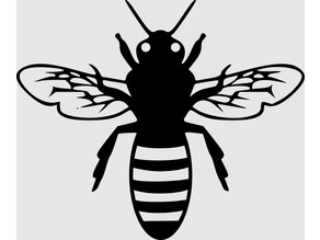 Bee pictogram