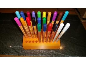 Stand for 30 Stabilo Pens