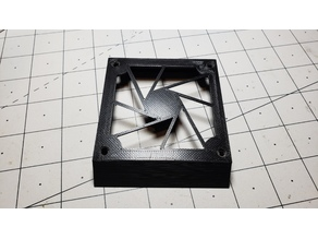Geeetech A10 (v3) 80mm fan board aperture grill