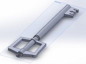 Key blade Keychain