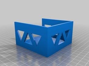 Sticky Note Holder w/ Triangle Design