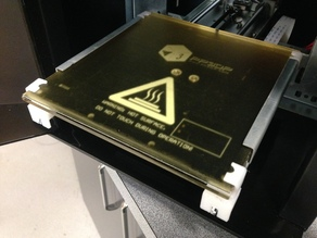 Up Mini Adjustable Bed Mod for Raftless Printing