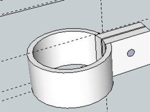 26mm Road bike handlebar clamp