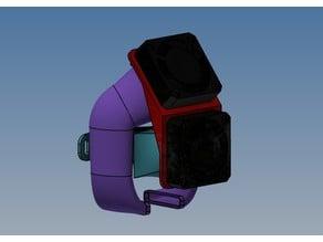 Ender 3 - Support ventilateurs - refroidisseur