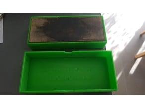 Messer-Schleifstein Schachtel