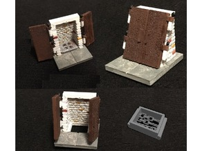Miniature Sewer Protected Entrance