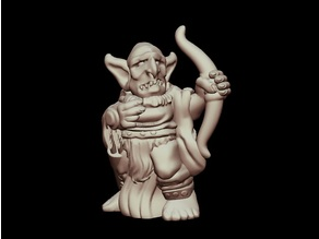 Kyn Finvara: Goblin Archer (28mm/32mm scale)