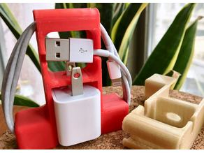 iPhone Wall Plug Holder+