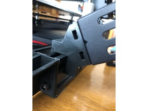 Ender 3 Side Spool Mount Stock T-Nuts