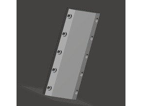 Blank Universal tool mount for MPCNC 525 remix by Brink
