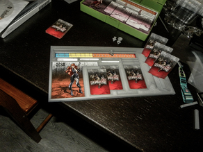 Zombicide Modern Dashboard - Official Cards