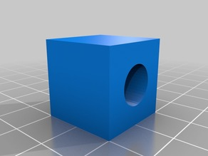 Cube for testing and calibrate 3D printer