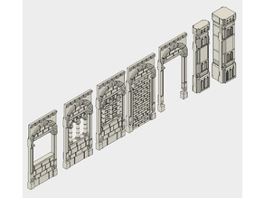 Warhammer Ruins: Modular Temple of 18th Greek Letter