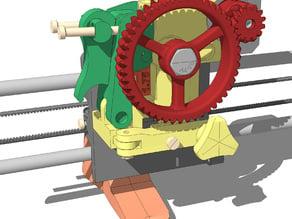 LUCAS extruder version 2