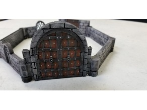Dungeon stick Village Terrain