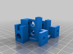 Extruder for Planetary Gearbox (Modded Airtripper's)