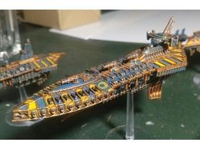 Battlefleet Gothic - That Chaos Grand Cruiser