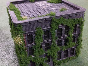 Dropzone Commander (N-scale) customizable building