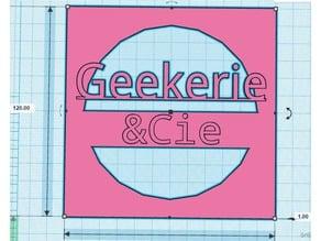 """Grille de ventilateur 120mm Pour pc """"Geekerie&Cie"""""""