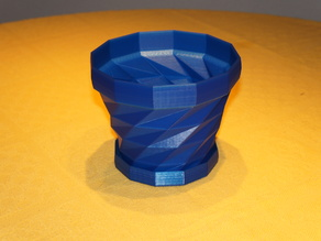 Coaster for Triangulated Flower Pot