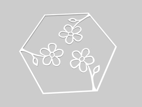 100Hex-outline-Flowers-Remix