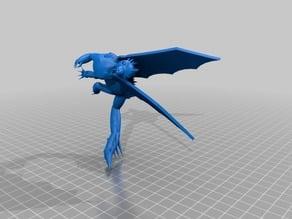Fierce Ice Dragon