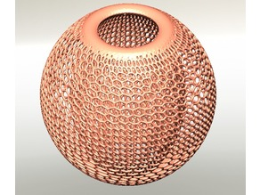 Voronoi Lamp Shade