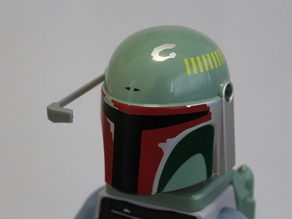 Boba Fett Range Finder for Lego Lamp