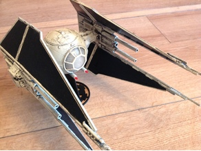 Star Wars Tie Interceptor (Heavy Cannon Conversion)
