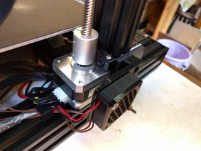 Ender 3 fan mount for Z stepper-motor