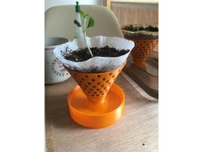 Self Watering Seedling Planter