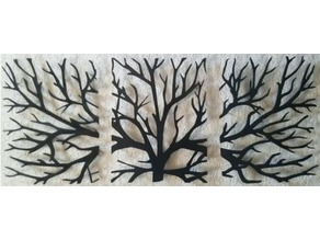 Tree 2D Wall Art V2