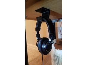 Hanging Headphone Stand - Mount Under Desk