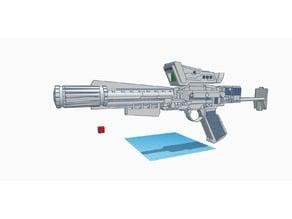 BSG; Colonial Carbine Blaster (Battlestar Galactica)