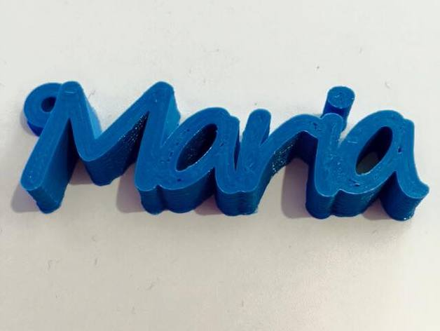 how to make 3d name