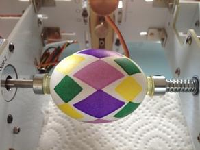 Harlequin Argyle Egg-bot Design