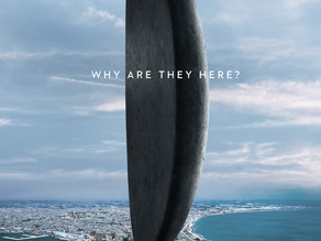 Heptapod Craft. Spaceship from the movie Arrival / Story of Your Life