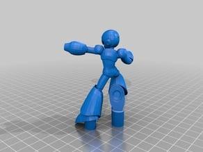 Megaman X Amiibo (Smash 4 styled)