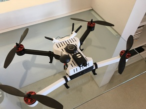 T4 Remixed 3D printed Quadcopter