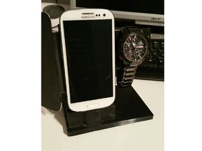Phone charger and clock Holder