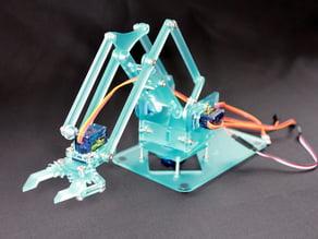 MeArm V0.4 - Pocket Sized Robot Arm