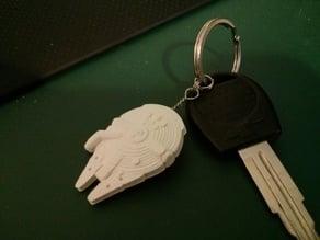 Millennium Falcon Keychain - Remix