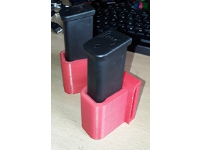 Holster 2 chargeurs Glock