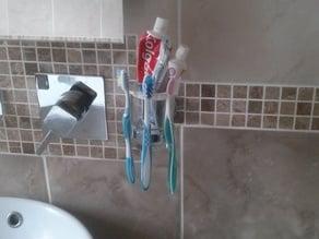 Bathroom Soap dish & Toothbrush Thing