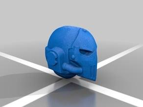Depressed Siege Veteran Helmet